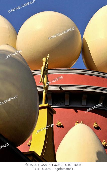 Dalí Theatre and Museum, Figueres, Alt Emporda, Girona, Catalonia, Spain