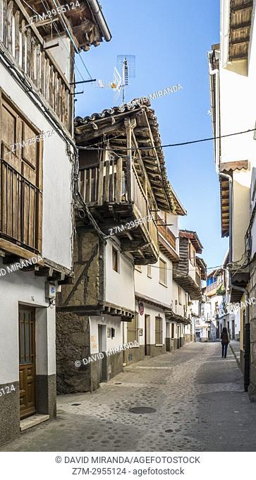 Popular architecture. Villanueva de la Vera. Cáceres. Extremadura. Spain