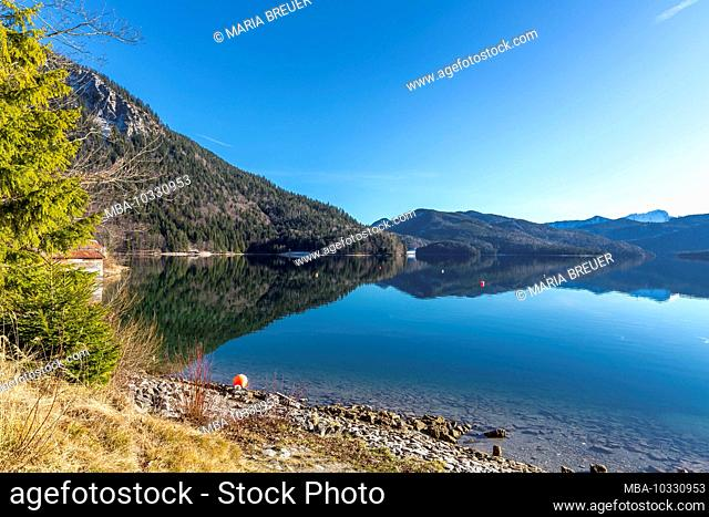 Walchensee, Bavaria, Germany, Europe
