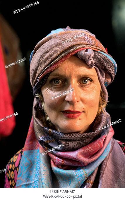 Morocco, portrait of woman