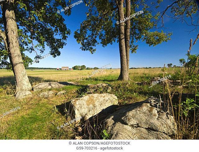 USA. Pennsylvania. Gettysburg. Cemetery Ridge. Codori Farm
