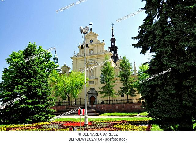 Cathedral Basilica of the Assumption of the Blessed Virgin Mary. Kielce, Swietokrzyskie Voivodeship, Poland