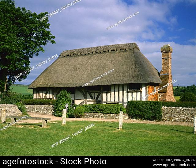 Alfriston Clergy House, East Sussex, England