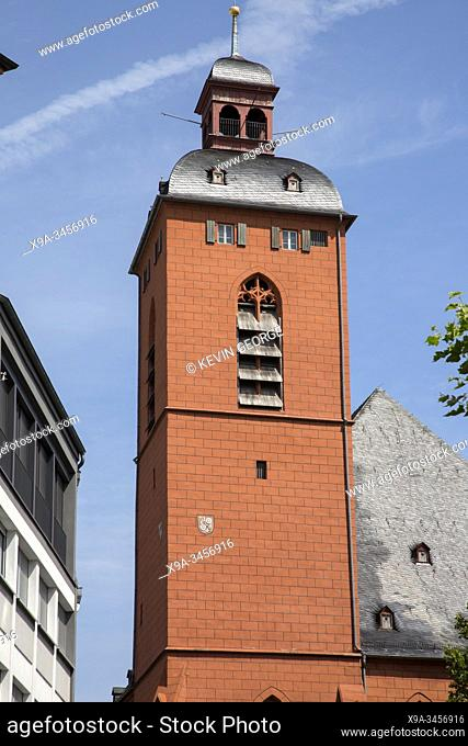 St Quintin Church Tower, Mainz, Germany