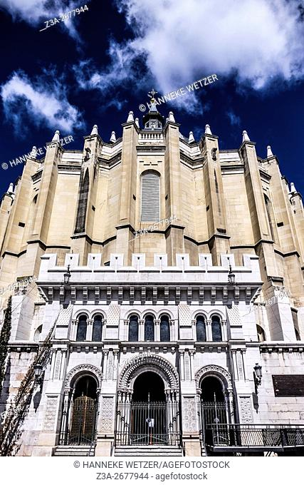 Cathedral of Almudena in Madrid, Spain, Europe
