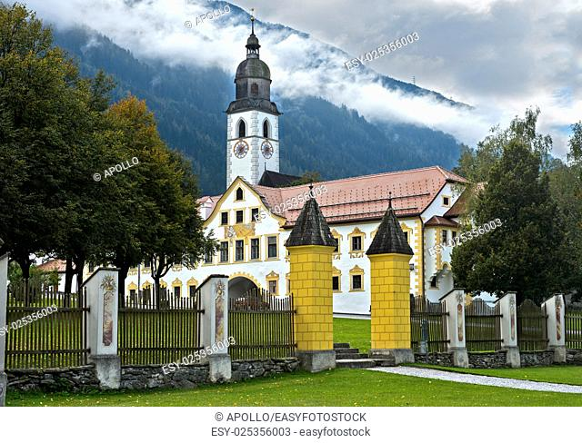 At Stams Abbey, Stift Stams, Stams, Tyrol, Austria