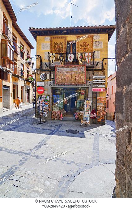 Antique store, Toledo, Spain, Europe