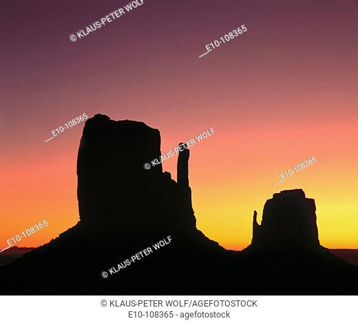 Monument Valley. Arizona-Utah. USA