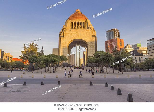 Revolution monument, Monumento a la Revolucio (1938), Mexico City, Mexico