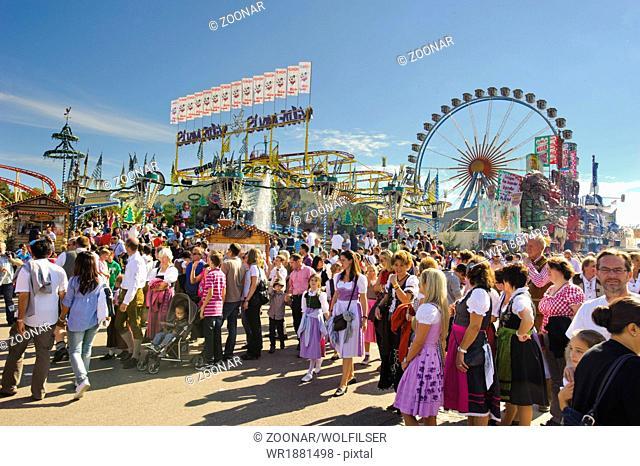 big wheel at Oktoberfest in Munich