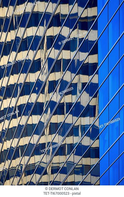 Massachusetts, Boston, Close-up of office building