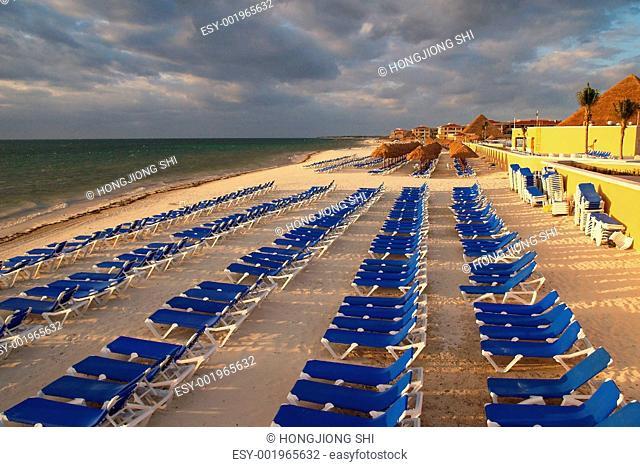 a cancun beach resort
