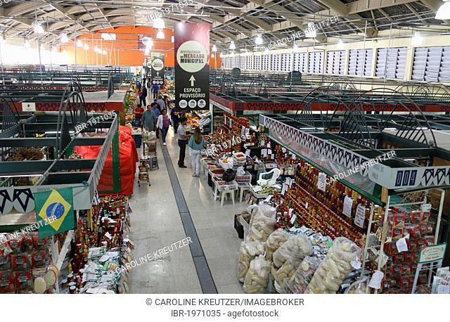 Markethall, Curitiba, Parana, Brazil, South America