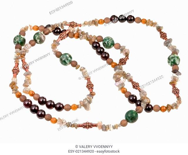 fragment gemstone lady's bead