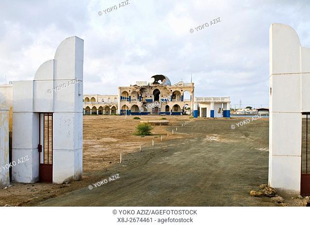 Imperial palace, Massawa, Eritrea