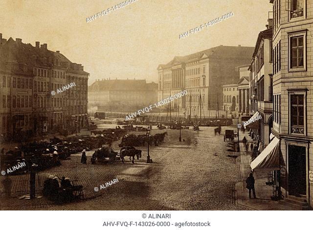 View of Copenhagen, shot 1885 ca. by Harboe E. V