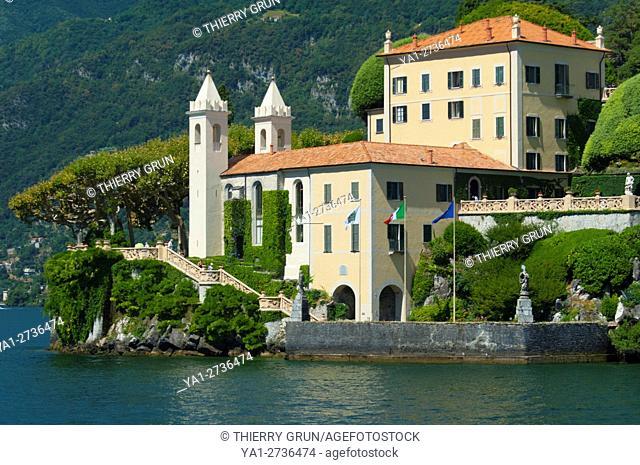 Italy, Lombardy, Como lake, Lenno, Balbianello villa