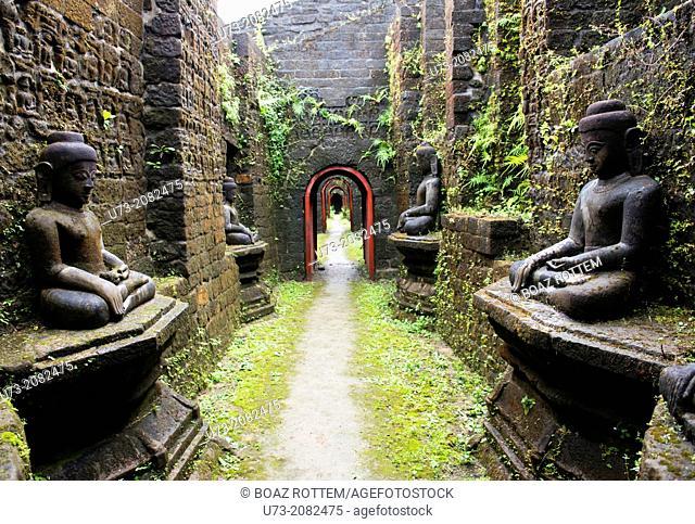 The beautiful old temples of Mrauk U in western Myanmar
