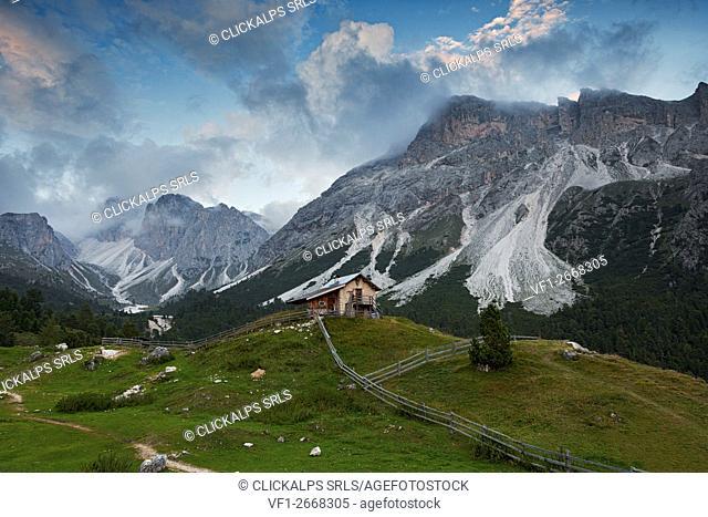 Ncisles, Odle group, Dolomites, South Tyrol, Bolzano, Italy