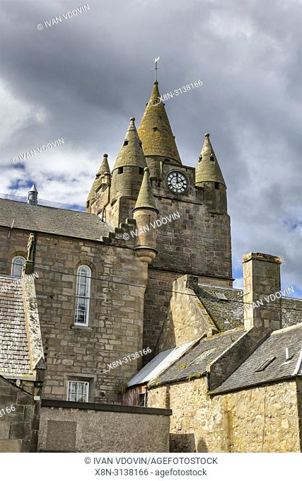 Tolbooth (1708), Tain, Ross and Cromarty, Scotland, UK