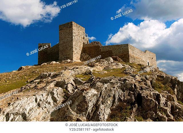 Castle 13th century, Huelva province, Region of Andalusia, Spain, Europe