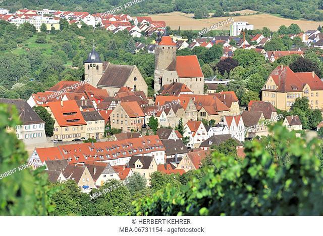 Germany, Baden-Wurttemberg, Old Town of Besigheim