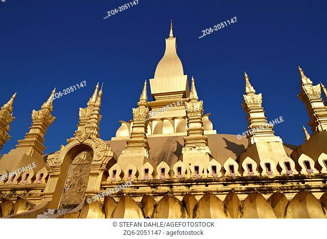 The Temple That Luang in Vientiane in Laos
