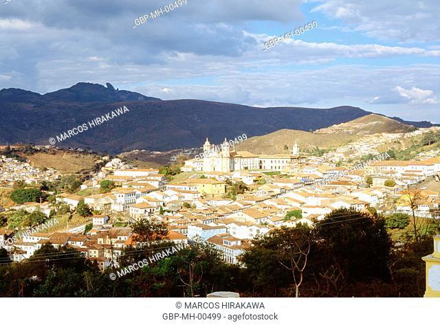 Nossa Senhora do Carmo Church, Black gold, Minas Gerais, Brazil