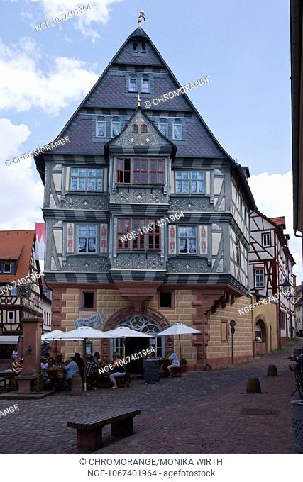 Miltenberg, Hotel zum Riesen, Mainfranken, Lower Franconia, Franconia, Bavaria, Germany, Europe