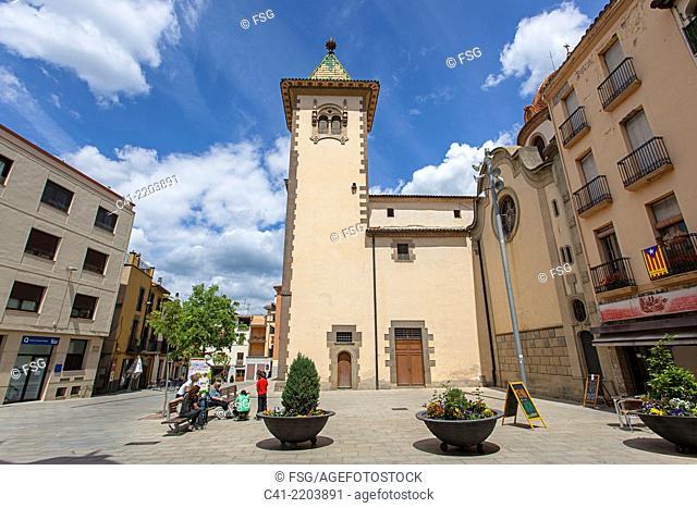 Esglesia de Sant Feliu. Torelló. Barcelona, Spain