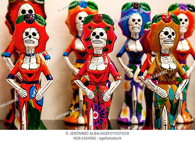 La Calavera Catrina referential image of the celebrations of Mexican Day of the Dead, Mexico