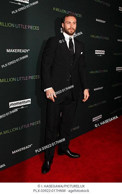 """Aaron Taylor-Johnson 12/04/2019 The Los Angeles Special Screening of """"""""A Million Little Pieces"""""""" held at The London West Hollywood at Beverly Hills in West..."""