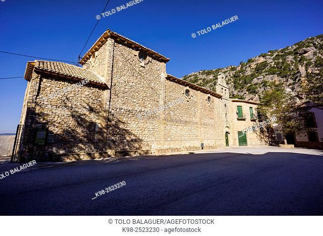 santuario de Tiscar, gotico con elementos mudejares, parque natural sierras de Cazorla, Segura y Las Villas, Jaen, Andalucia, Spain