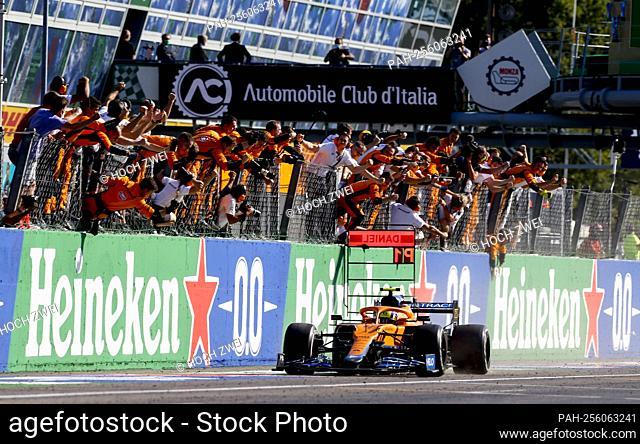 # 4 Lando Norris (GBR, McLaren F1 Team), F1 Grand Prix of Italy at Autodromo Nazionale Monza on September 12, 2021 in Monza, Italy