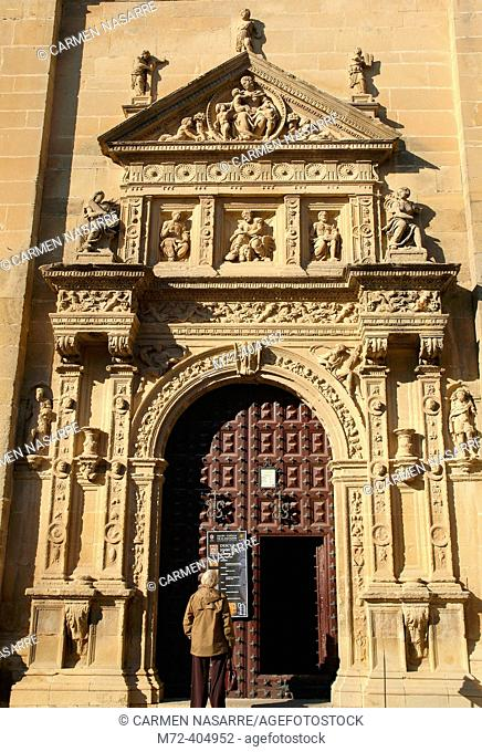 Iglesia del Salvador. Úbeda. Jaén province. Andalusia. Spain