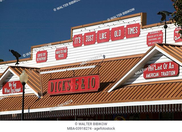 usa, Missouri, branson, business, company-logo, exterior, detail