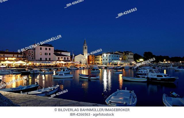 Port of Fažana at dawn, Fasana, Istria, Croatia