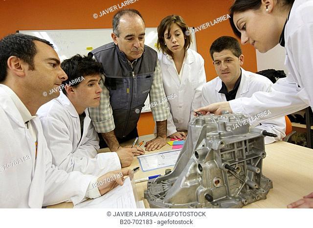 Brainstorming room, training and development ideas, Automotive industry Unit. Fundación Inasmet-Tecnalia, Centro de Investigación