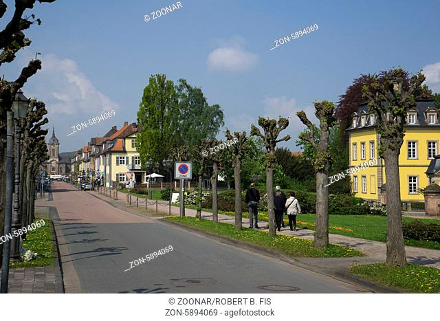 Schloss-Straße in Bad Arolsen Foto: Robert B. Fishman