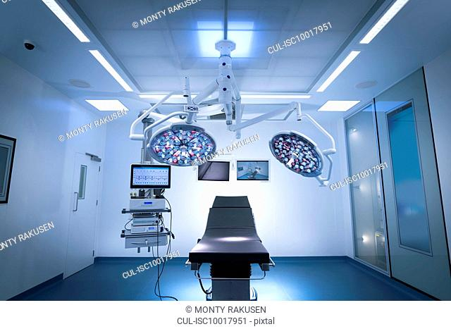 Operating theatre in hospital setting