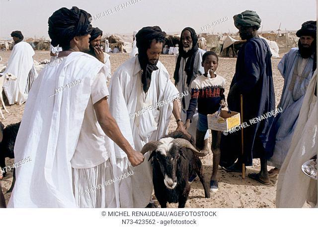 Street seller. Mauritania