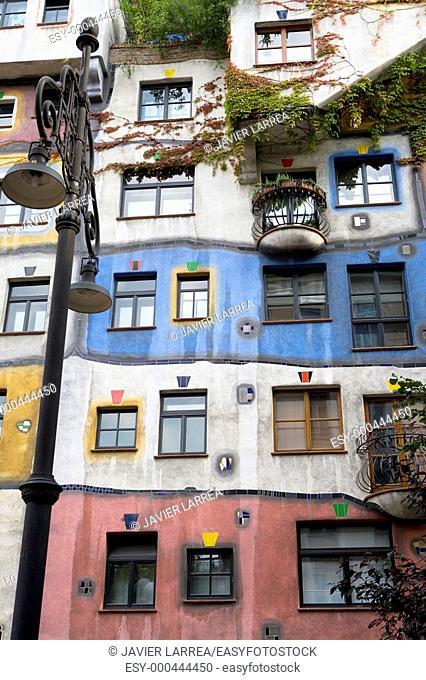 Hundertwasserhaus, Vienna. Austria