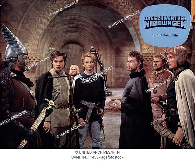 Das Schwert der Nibelungen, Deutschland 1976, Zusammenschnitt aus den beiden Nibelungenfilmen der 1960er Jahre, Regie: Harald Reinl