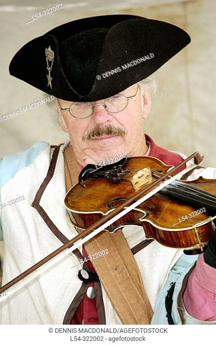 Feast of St. Claire: c. 1790 reenactment of early American life. Port Huron. Michigan, USA