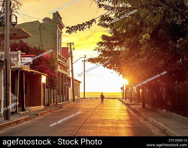 Sunset at La Punta, Cienfuegos, Cienfuegos Province, Cuba