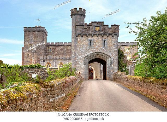Powderham Castle, Devon, United Kingdom