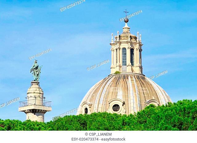 Rome Church Santissimo Nome di Maria al Foro Traiano 01