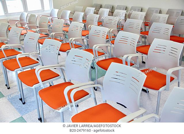 Room for clinical sessions. Meeting room. Intensive Care Unit ICU, Hospital Donostia, San Sebastian, Gipuzkoa, Basque Country, Spain