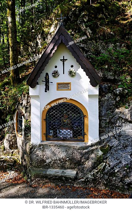 Chapel Maria auf der Kette, Mary on the chain, Aschau, Chiemgau, Upper Bavaria, Germany, Europe