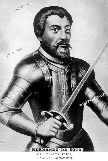 Hernando de Soto, (1496-1542), 1920s